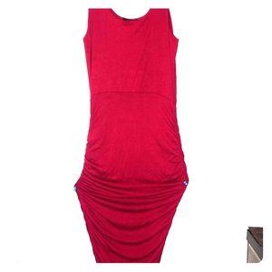 Seduction woman's small scrunchy type dress